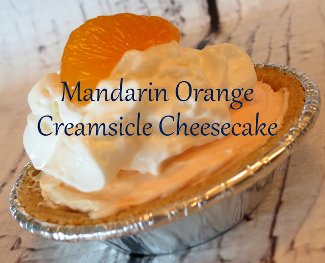 Mandarin Orange Creamsicle Cheesecake