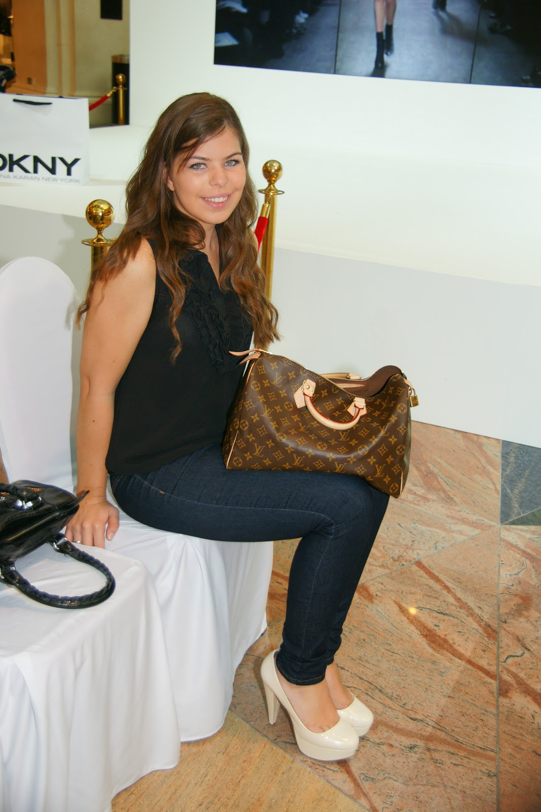 what i wore at the dkny fashion show