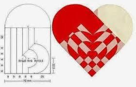 San Valentín: corazón entrelazado