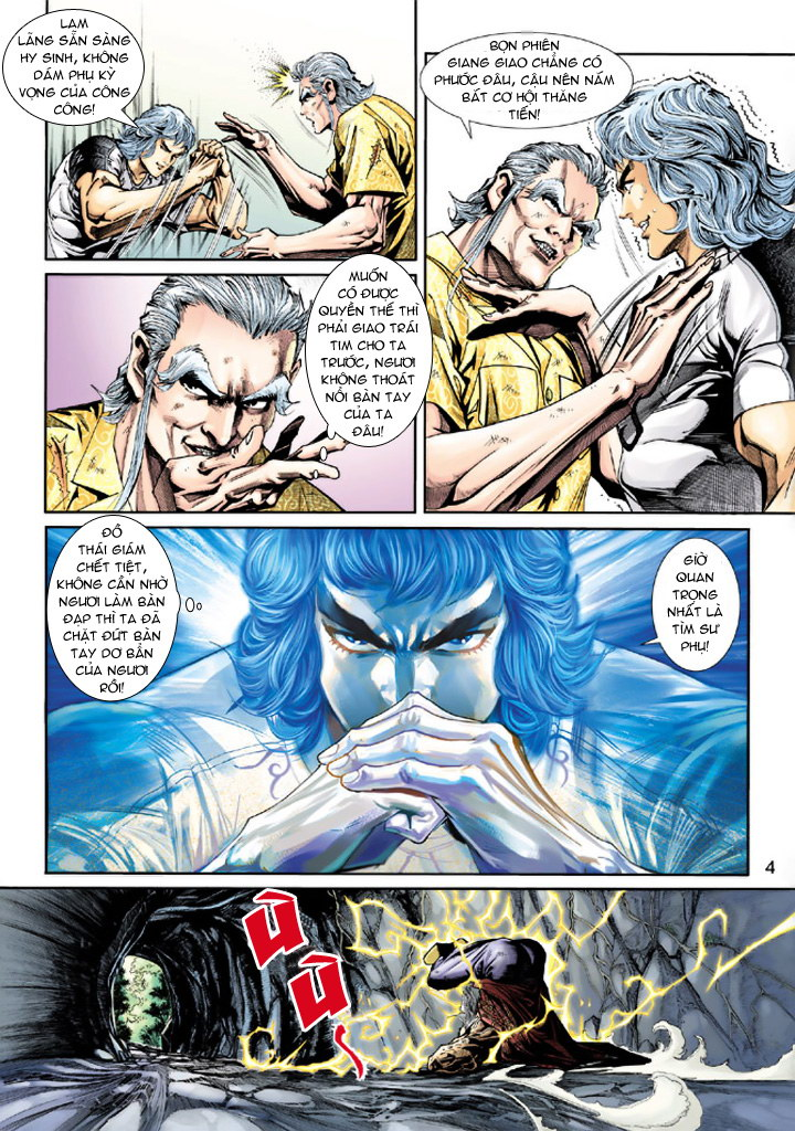 Tân Tác Long Hổ Môn chap 212 - Trang 4
