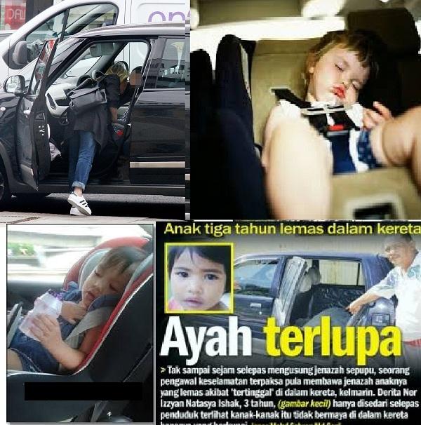Ibubapa boleh didakwa atas kecuaian dan tinggalkan anak dalam kereta