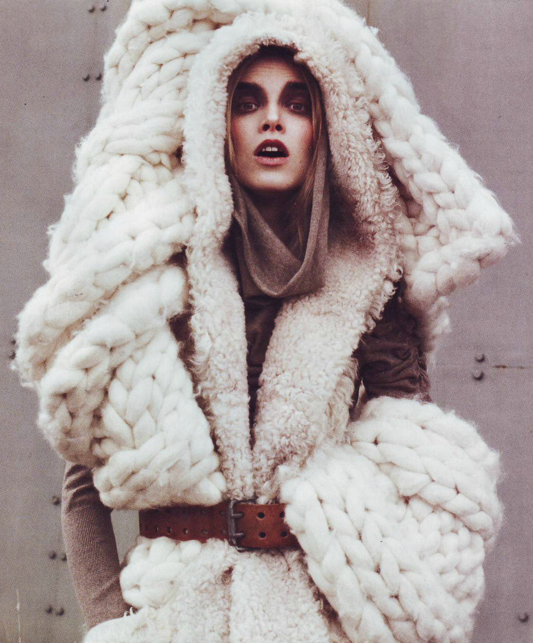 Knitting Patterns For Winter : Mr and Mrs Smith: Faded winter esthetics