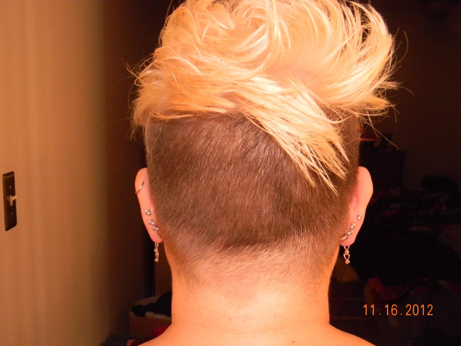 The Pixie Revolution Pixie Cut Sidecut Undercut Buzzed