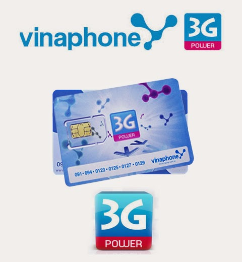 Đăng ký 3G Vinaphone 5000đ/ngày 1GB dung lượng D1
