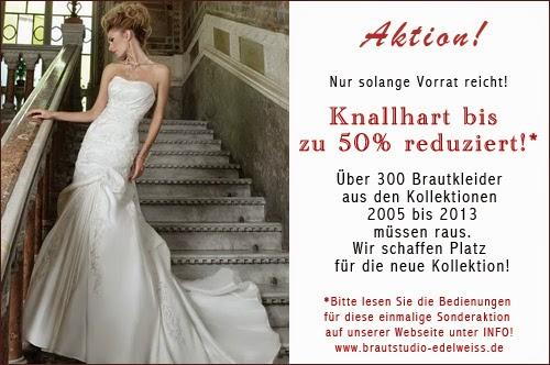 Reduzierte günstige Brautkleider. Ausverkauf von Brautmoden. Günstige Brautkleider günstiger kaufen.