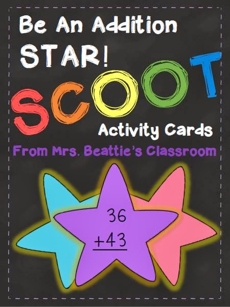 http://www.teacherspayteachers.com/Product/Be-An-Addition-Star-Scoot-Game-1111478