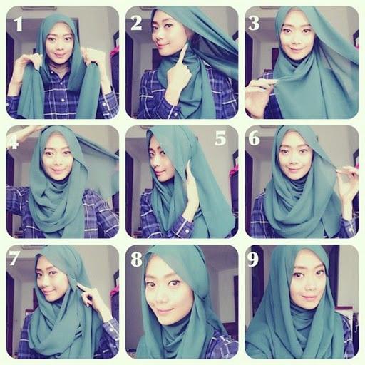 Model Tutorial Hijab Terbaru dan Terpopuler Saat Ini