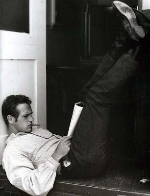 Paul Newman leyendo - leer es sexy