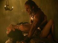 sex scenes, Spartacus