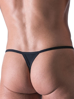 Manstore Stripper String Underwear Black Back Gayrado
