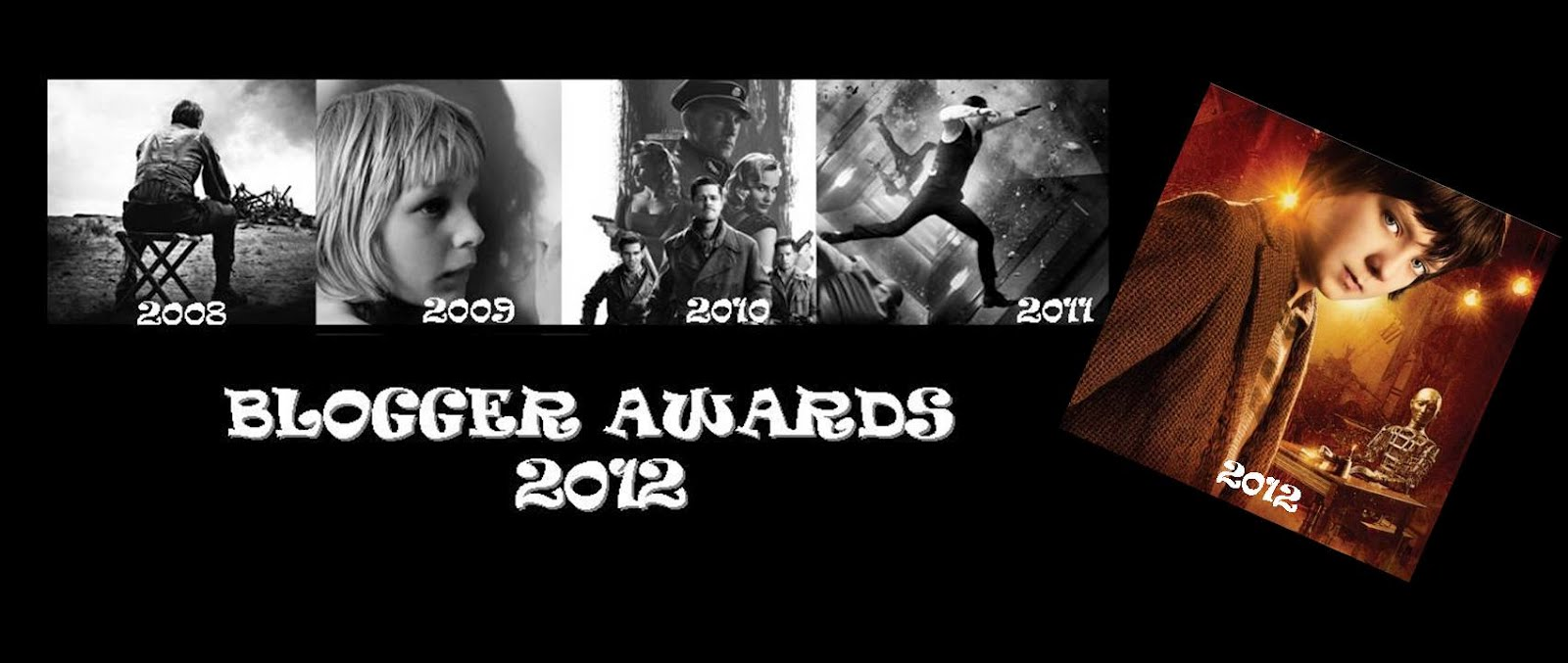 BLOGGER AWARDS 2012