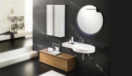 Decoracion Baño Beige:del piso del baño color beige se utiliza en los espejos de baño
