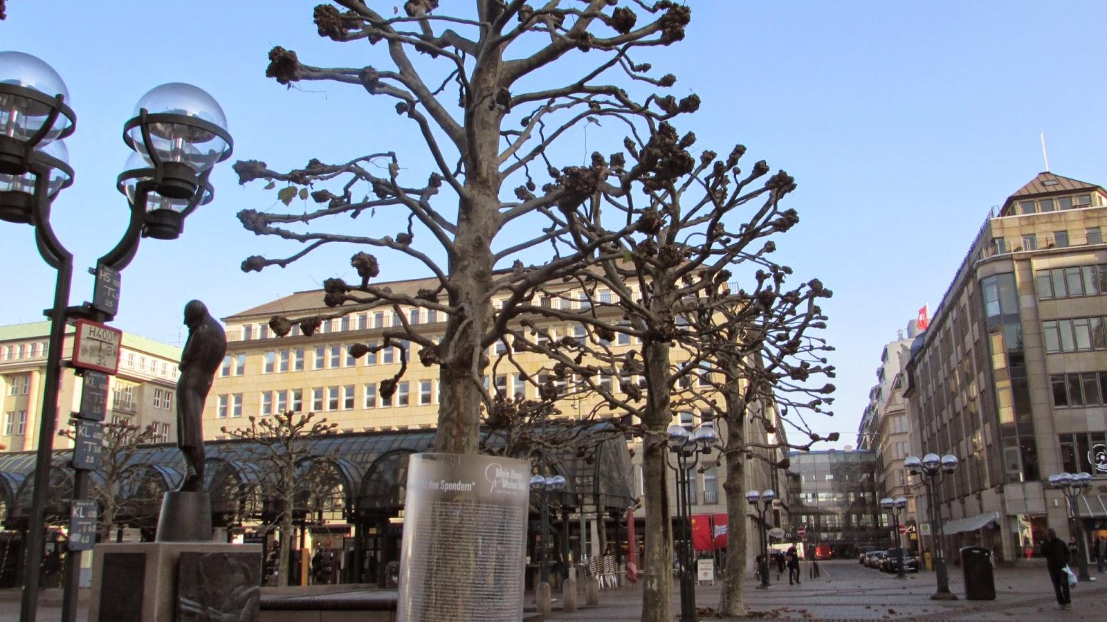 centrum, stary rynek Hamburg