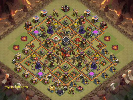 Th10 War base layout