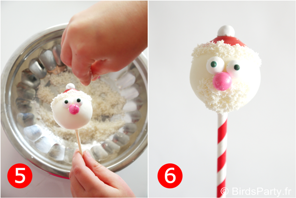 Diy Christmas Cake Pops Ideas Diy Santa Cake Pops