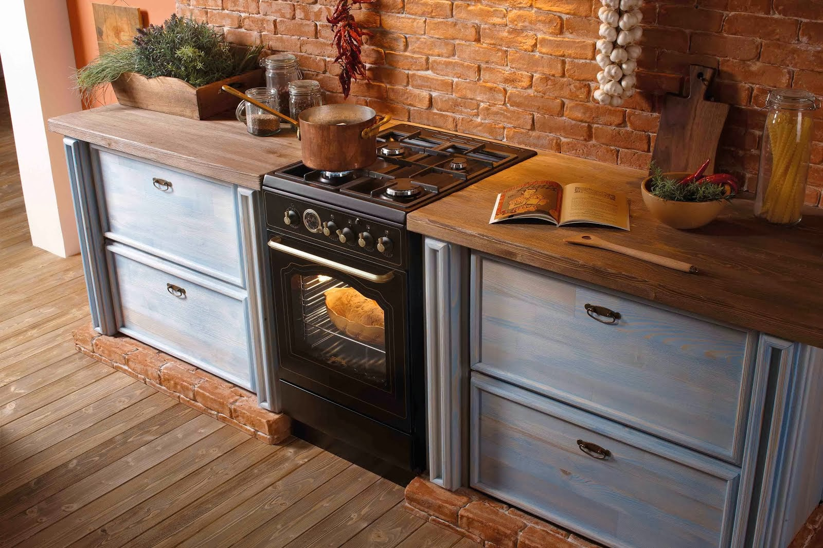 Il comunicato stampa arriva la nuova linea classico firmata gorenje cucine freestanding piani - Cucine a gas ikea ...