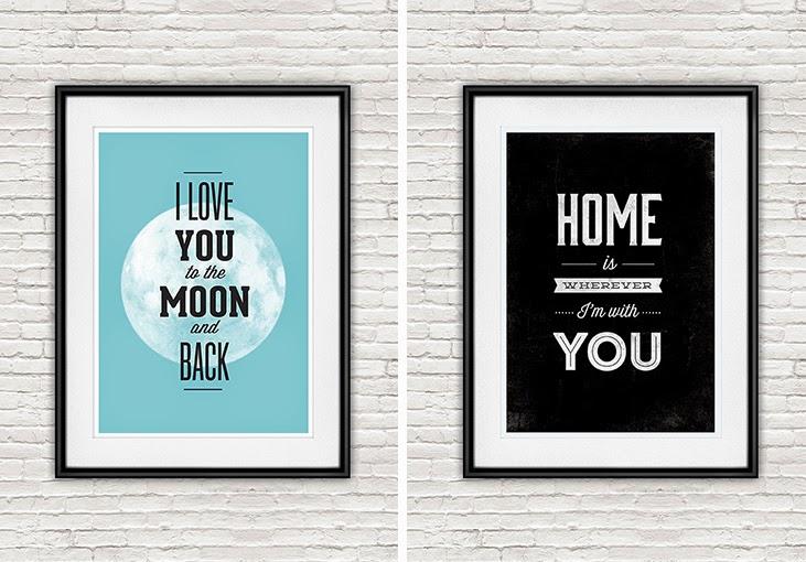 typography print etsy