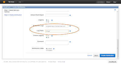 Configure CloudFront for Access Logging