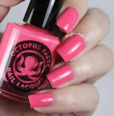 Octopus Party Nail Lacquer Malibu Stacy's Mom