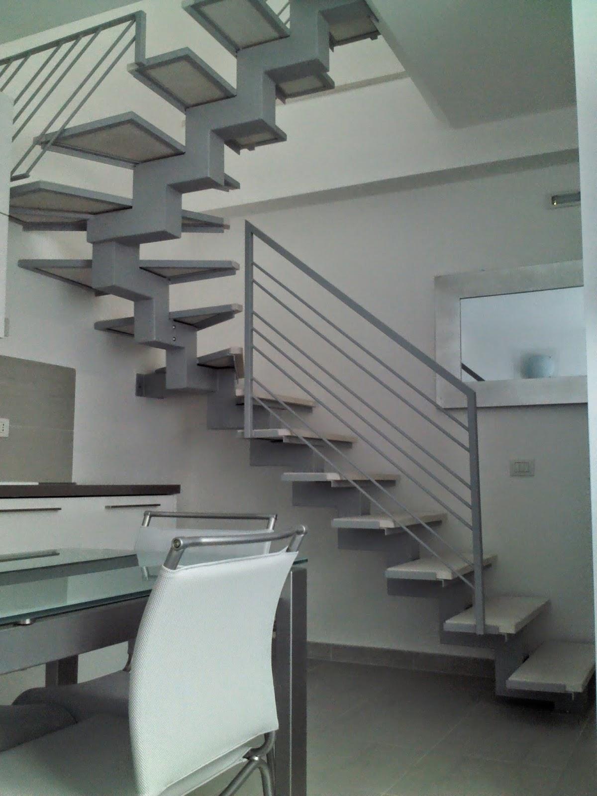 Progetto ferro di roberto benvenuti scala d 39 arredo in ferro per interni - Scale d arredo per interni ...
