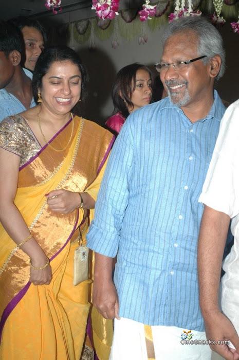 Director Selvaraghavan and Geethanjali Wedding Stills wallpapers