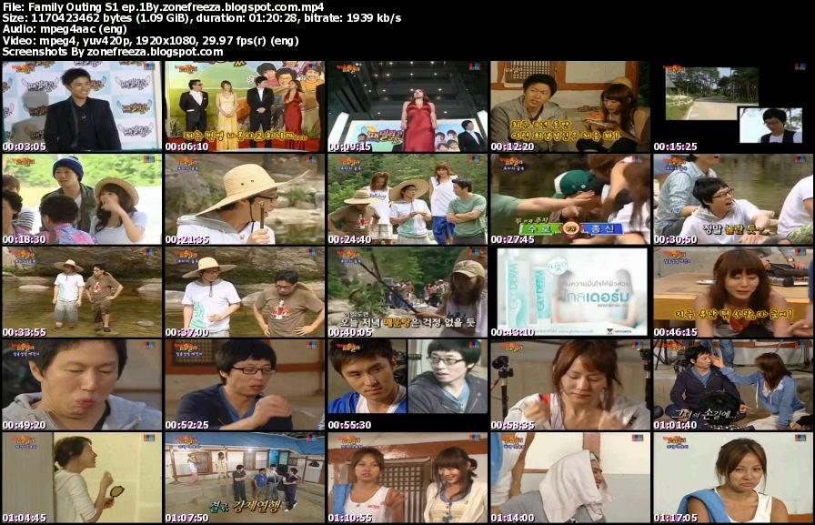 [รายการเกาหลี] Family Outing S1 แฟมีลี่เอาท์ติ้งปี1 EP.1 เทปแรก [พากย์ไทย]