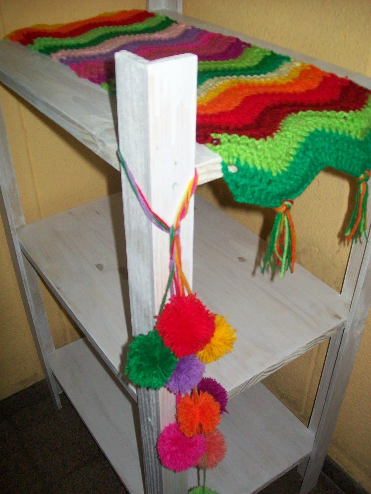 Abuela cata tejido de dise o febrero 2012 - Apliques para cortinas ...