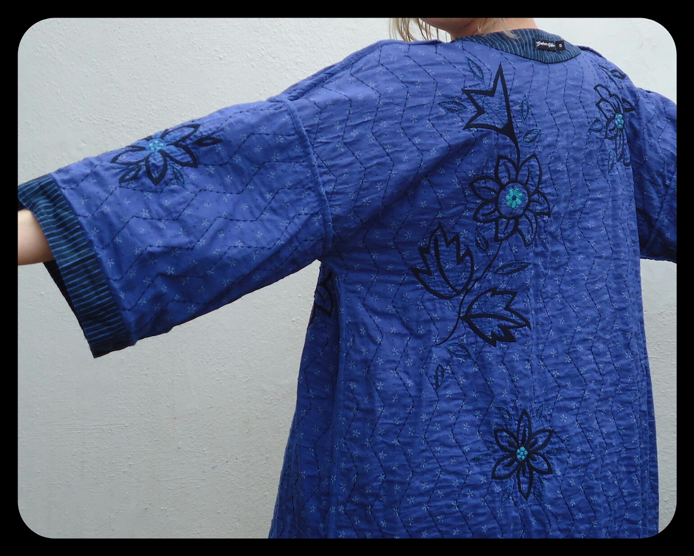 Gudrun Sjödén kimono - worn #insideout