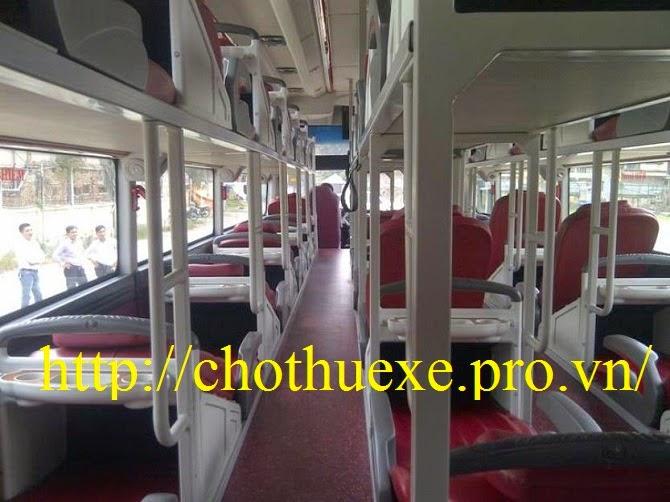 Phục vụ xe giường nằm tại Hà Nội