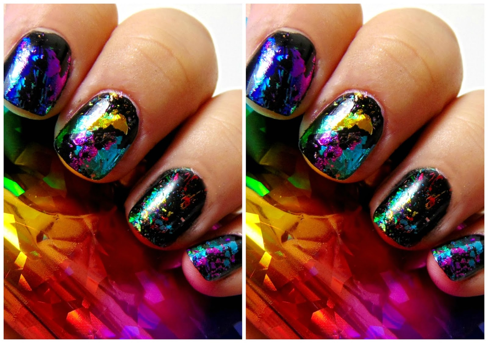 Enchanting Foil On Nails Component - Nail Art Ideas - morihati.com