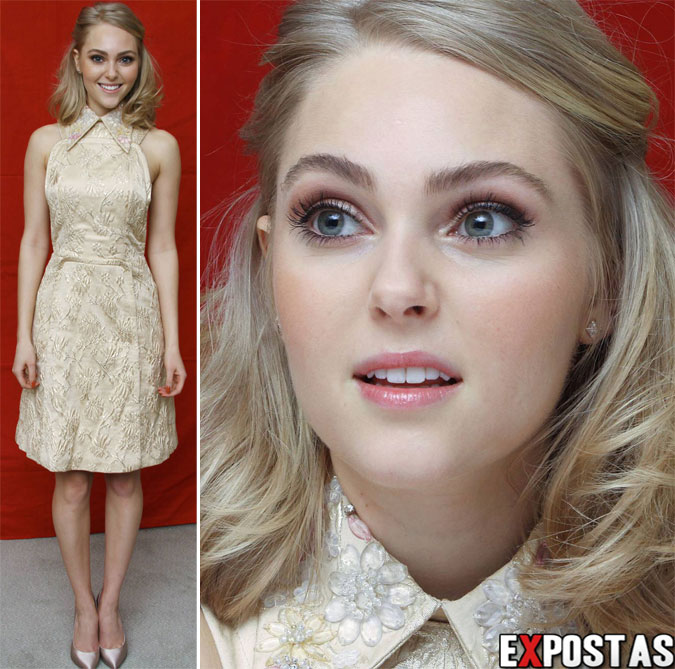 "AnnaSophia Robb: ""The Carrie Diaries"" Press Conference ~Portraits~ - 08 de Fevereiro de 2013"
