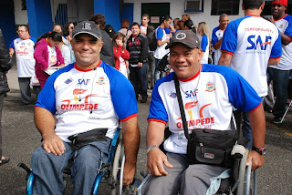 Atletas Erlon Machado e Rosivaldo Lima estão otimistas com a participação na Olimpede
