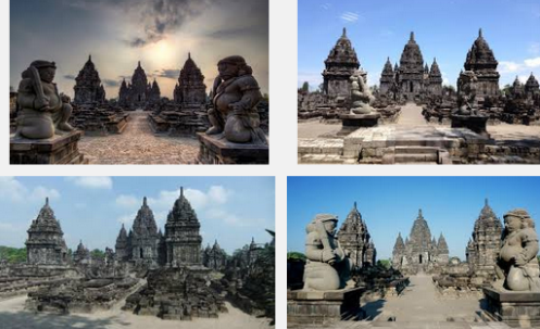 Ilustration Of Virtual Tour Of The Sewu Temple