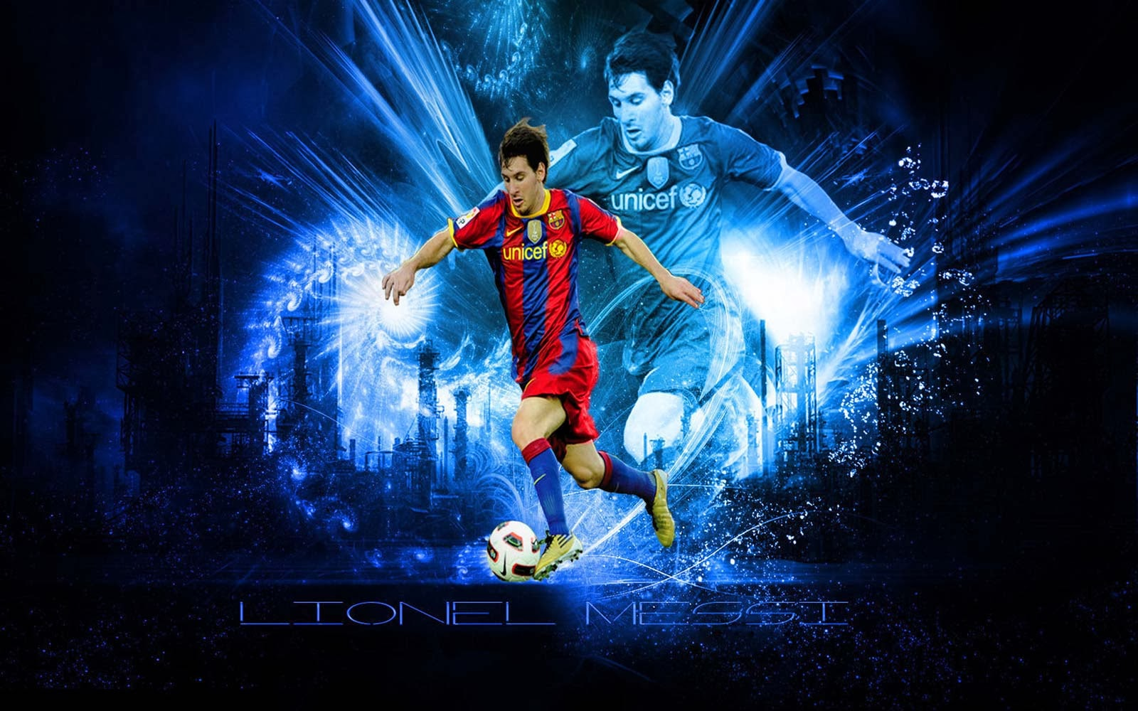 Lionel Messi Barcelona HD Wallpapers 2013-2014