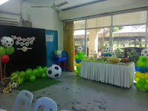 FAYEL 1ST BIRTHDAY BASH - SOCCER FOOTBALL THEME