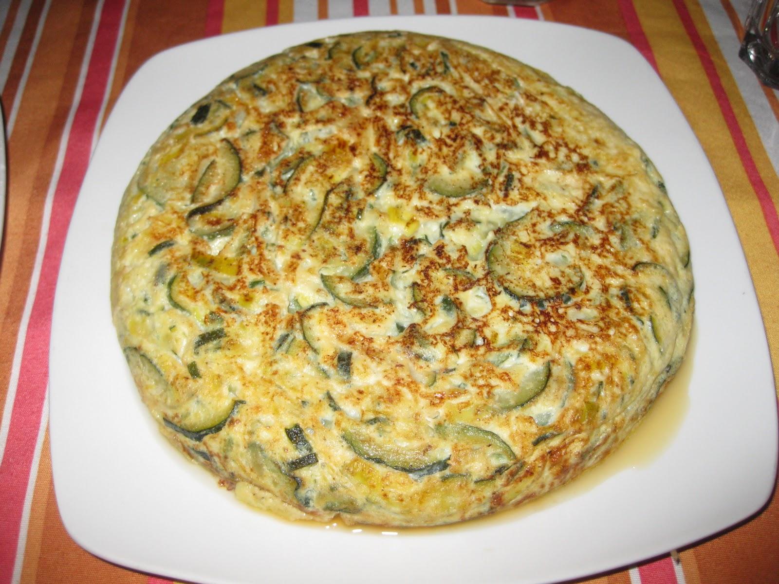 Alquimia fullera transitando tortilla de calabacin - Tortilla de calabacin y cebolla ...