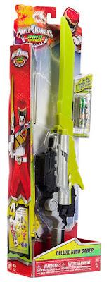 TOYS : JUGUETES - POWER RANGERS : Dino Charge  Deluxe Dino Saber | Espada  Producto Oficial Serie Television | Bandai 42045 | A partir de 4 años  Comprar en Amazon