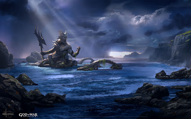 Poseidon awaits - God of War : Ascension