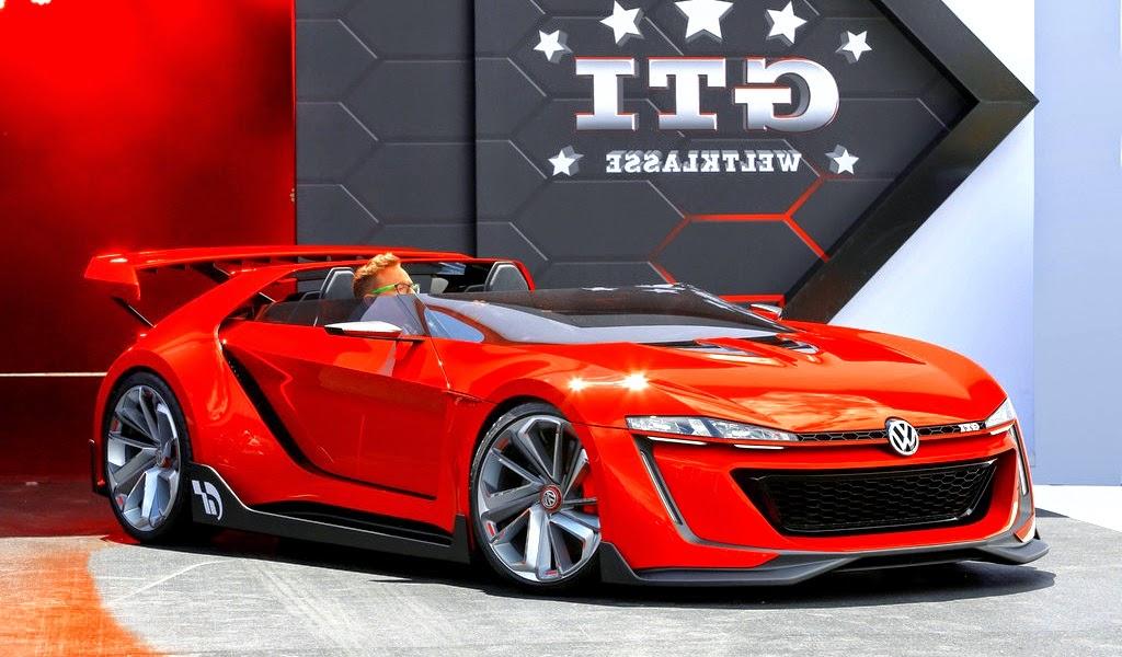 2014 Volkswagen GTI Roadster Concept Front Wallpaper