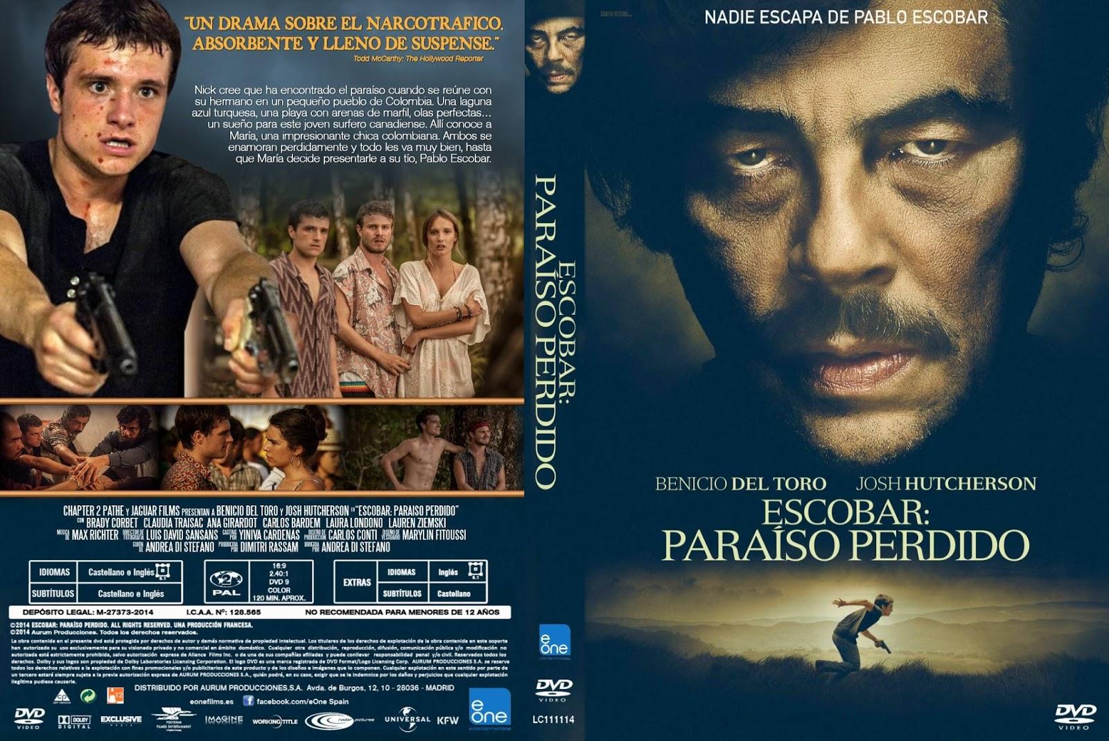 Escobar Paraíso Perdido BDRip XviD Dual Áudio escobar paraiso perdido custom por lolocapri dvd