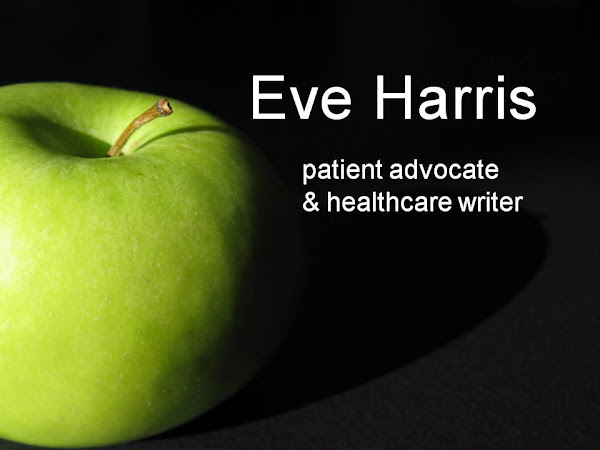 patient advocate & healthcare writer Eve Harris