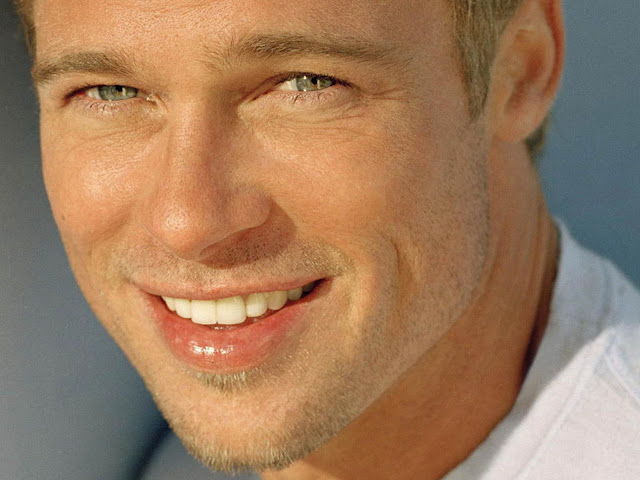 brad pitt body photos