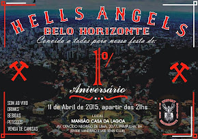 HELLS ANGELS MC- ANIVERSARIO DE 1 ANO!- 11 de Abril 2015