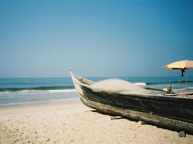 Famous Calangute Beach in Goa