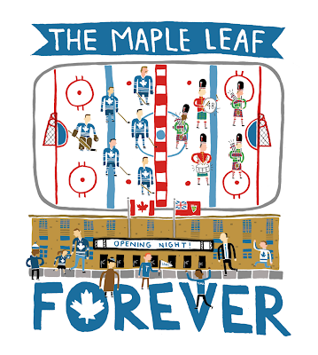 toronto maple leafs art