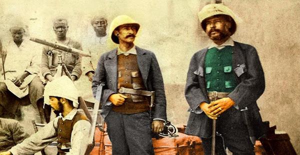 Sir Richard Burton y John Speke buscando el nacimiento del Nilo