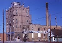 Peoples Brewing Company after its closing in 1972.