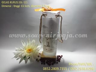 Souvenir Gelas Sablon Ayu Ting-Ting