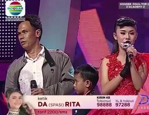 Rita Banjarmasin duet Bersama ayah Rita