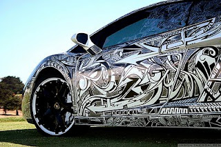 Body Painted Modification of  Lamborghini